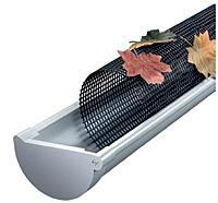 Защита водостока от листвы