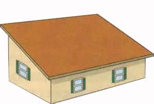 Обмер односкатной крыши