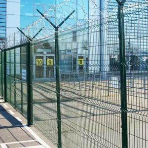 Забор секционный «Классик» h-2400мм L=2500мм d-5