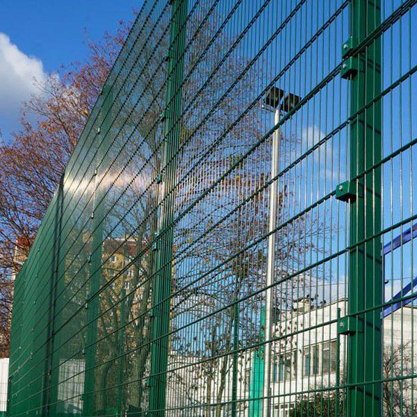 Панельный забор серии ПРОМ ТЕХНА h-2030мм L=2500мм d= 4+2х5 мм