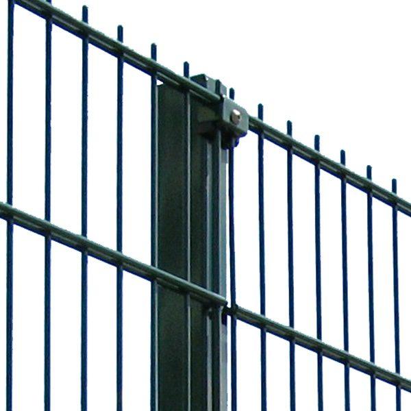 Панельный забор серии ПРОМ ТЕХНА h-2030мм  L=2500мм d= 5+2х6 мм