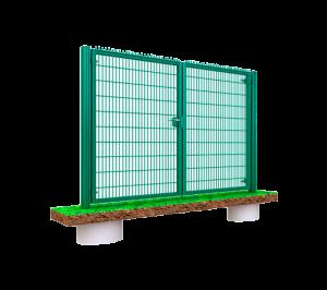 Ворота распашные Классик LX (высота 2,03 м, ширина 3 м)