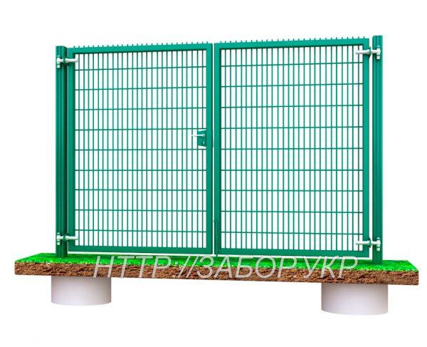 Ворота распашные Классик LX (высота 1,48 м, ширина – 4 м)