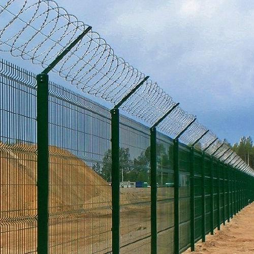 Забор секционный «Классик» h-2400мм d-4, l-3000мм