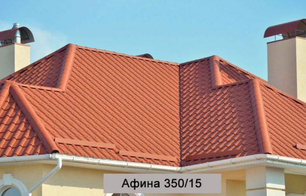 Металлочерепица Афина, Польша – 0,5 мм PEMA