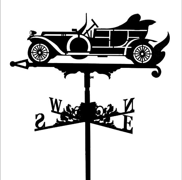 """Флюгер на крышу """"Автомобиль"""""""