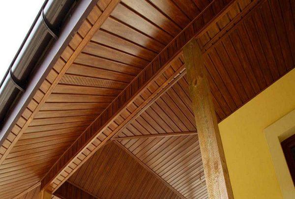 Панель соффит ASKO дуб золотой,  перфорированная, 3,5 м