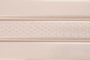 Сайдинг соффит ASKO бежевая,  перфорированная панель, 3,5 м