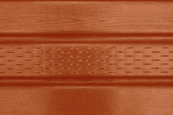 Панель соффит ASKO светлая сосна,  перфорированная, 3,5 м