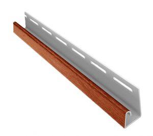 Планка J ASKO, длина  3,8 м, светлая сосна