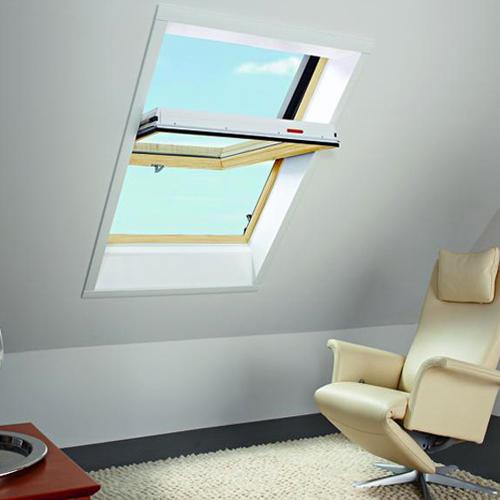 Окно в крышу Roto R65K WD KK/KG 120×124 (ламинация под дерево)