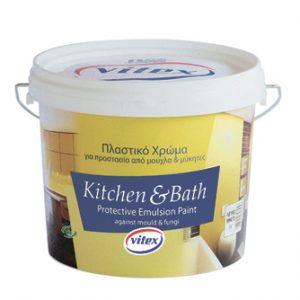 Краска для кухни и ванной комнаты Vitex Kitchen & Bath 9l