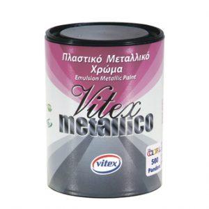 Краска с металлическим эффектом VITEX METALLICO 0.7l