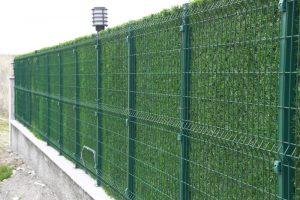 Декоративный зеленый забор MO
