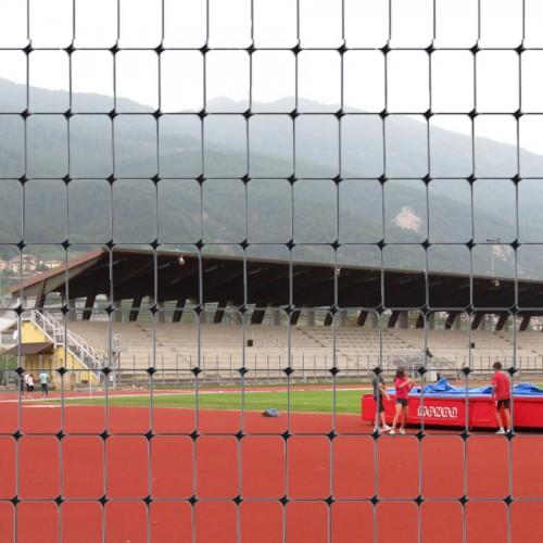 Сетка для ограждения спортивных сооружений C-FLEX черная (1х100 м.п.)