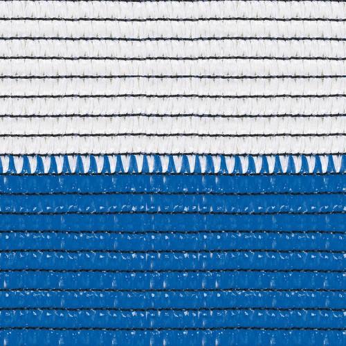 Сетка полимерная для затенения Солеадо бело-голубая (2х50 мп)