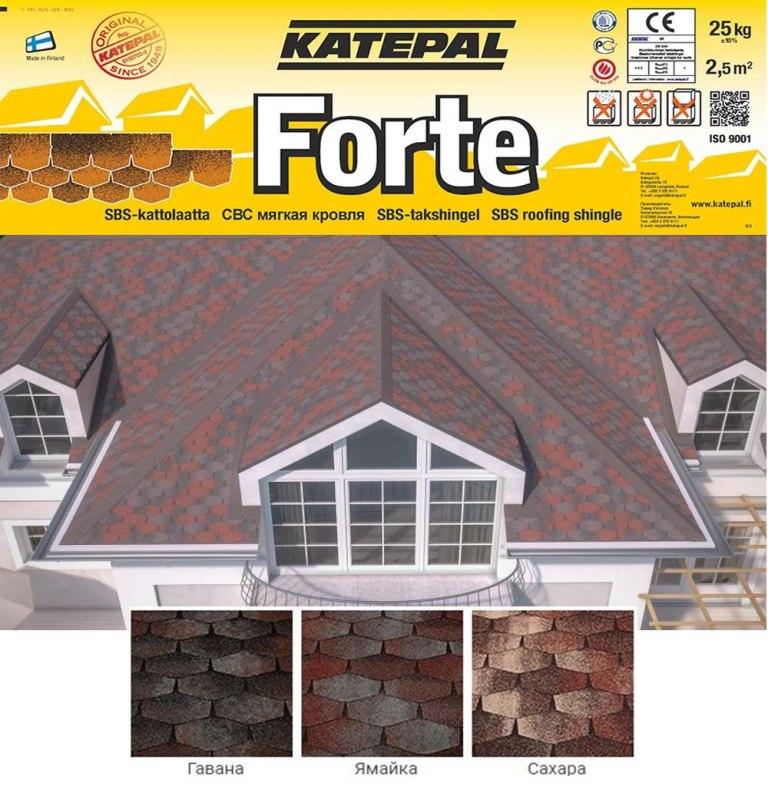 Палитра Katepal Forte
