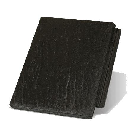 Цементная черепица Терран Зенит R (цвета: карбон, графит, гроссо, гранит, оникс)