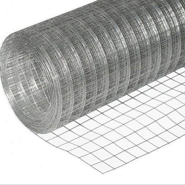 Сетка сварная (оцинкованная) яч. 25 х 12,5 мм / Ø 0,9 мм / h = 1,0 м