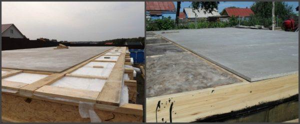 Цементно-стружечная плита БЗС 8 мм – 1 м.кв