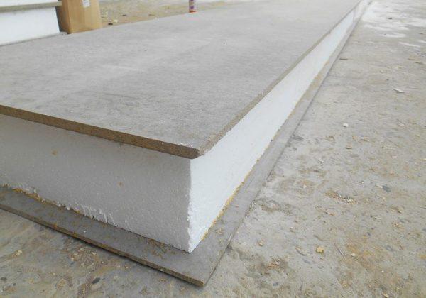 Цементно-стружечная плита BZS 3200 х 1200 х 12 мм