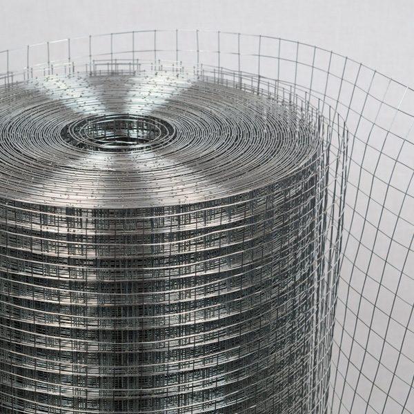 Сетка сварная (оцинкованная) яч. 25 х 25 мм / Ø 1,4 мм / h = 1,0 м