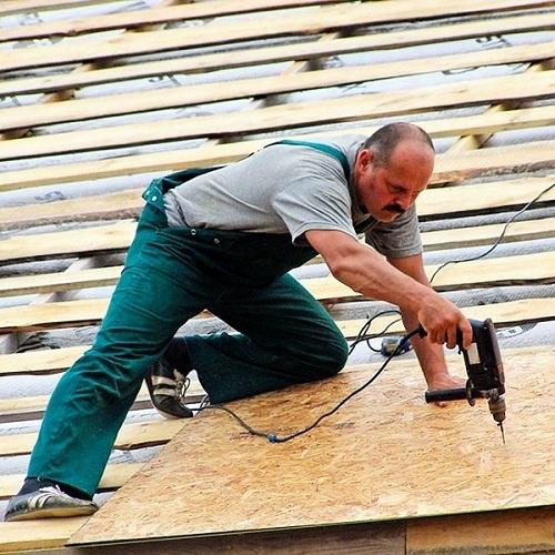 """Монтаж битумной черепицы – простая крыша """"под ключ"""" (без стропил)"""