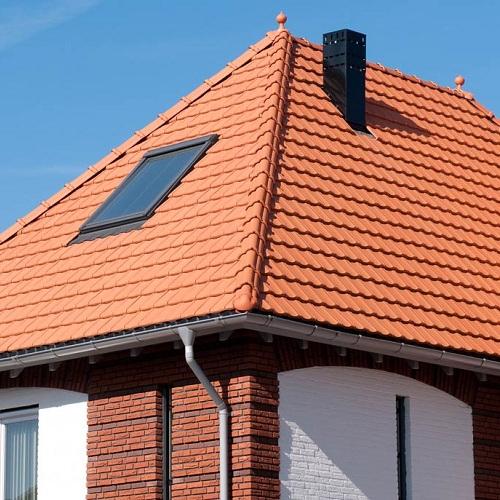 """Монтаж натуральной черепицы – средняя крыша """"под ключ"""" (без утепления)"""