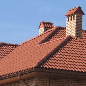 """Монтаж натуральной черепицы – средняя крыша """"под ключ"""""""