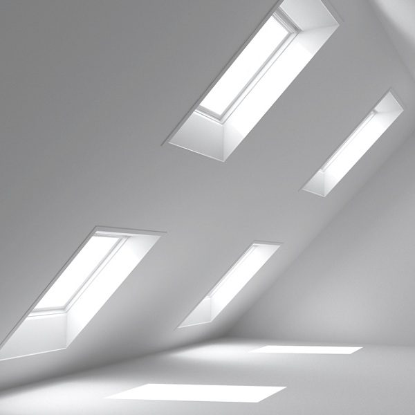Окно в мансарду Roto R48WH WD 80×104 (белая сосна)