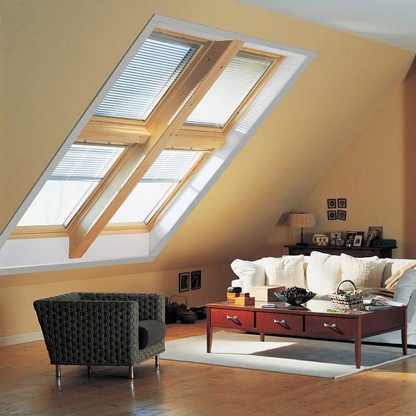 Окно в крышу Roto R45K WD KK/KG 60×84 (ламинация под дерево)