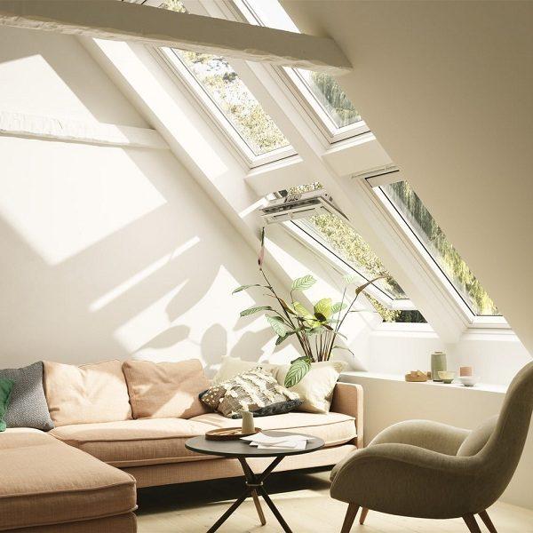 Мансардное окно Roto R69P H WD 80×146