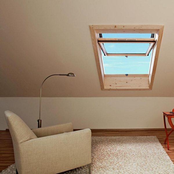 Окно мансардное Roto R69G H WD 80×124