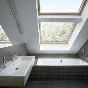 Окно в крышу Roto R69P K WD KK/KG 71×146 (ламинация под дерево)