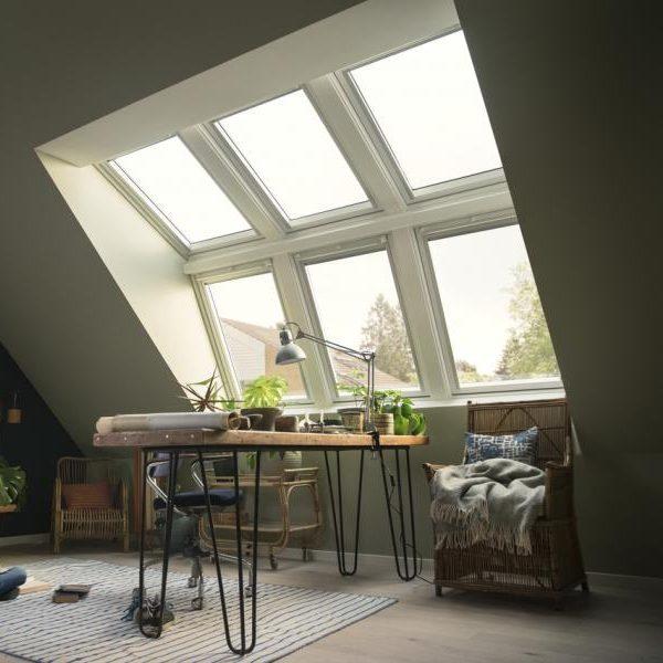 Мансардное окно Roto R69G K WD 60×84
