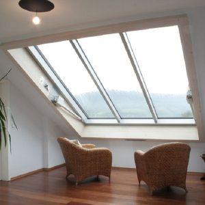 Окно в мансарду Roto R48H 94×118