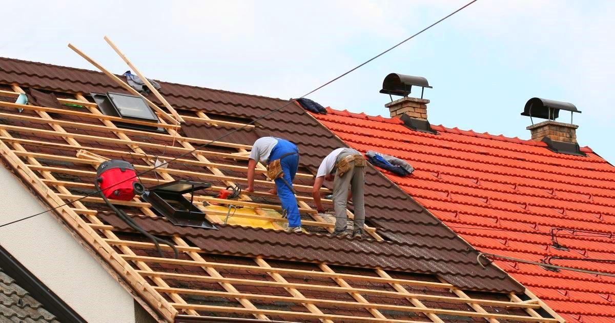 Монтаж композитной черепицы - сложная крыша (металл и планки)