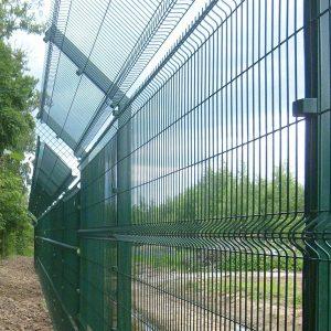 Строительство секционного ограждения высотой до 2,4 м (анкеровка) с Г наконечником и секцией 530 мм