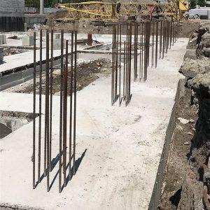 Строительство монолитного ленточного фундамента с подошвой