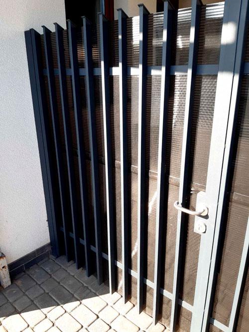 Распашные ворота ДЕКО 2000х6000 мм, модель В (03 серия)
