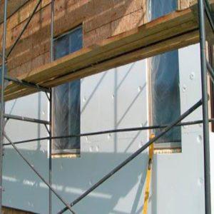 Утепление фасада пенопластом 50 мм (декор: минеральная штукатурка+ краска)