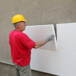 Утепление фасада пенопластом 150 мм (без финишного покрытия)