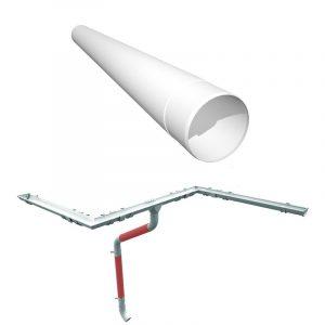 Труба водосточная Руукки 4м (система125/90)