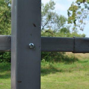 Столб для забора ДЕКО (рядовой) 2500 мм