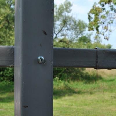 Столб для забора ДЕКО (рядовой) 2000 мм