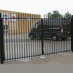 Распашные ворота ДЕКО 1500х3000 мм, модель А (03 серия)