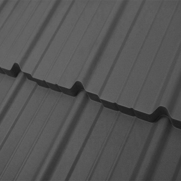 Металлочерепица Madera 25 1190/1130 мм, (ArcelorMittal – Германия), ultra matt
