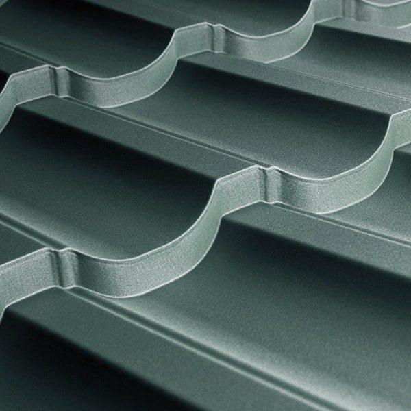 Металлочерепица Modern 25 1195/1145 мм, (TATA Steel – Турция), pol