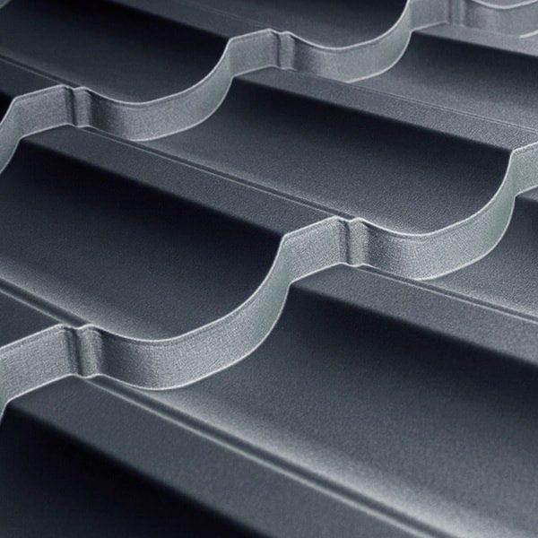 Металлочерепица Modern 35 1195/1145 мм, (TATA Steel – Турция), matt.
