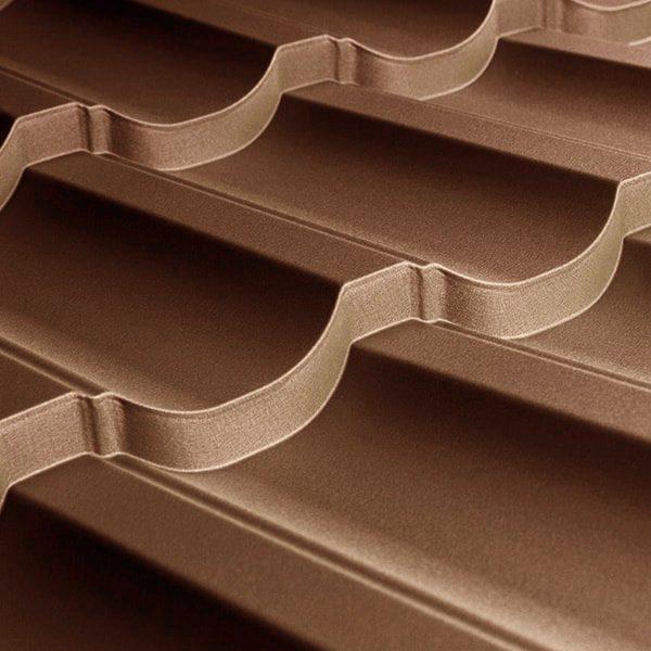 Металлочерепица Modern 35 1195/1145 мм, (ARVEDI – Італія), 3D matt